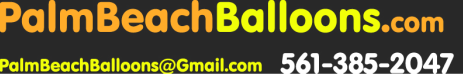 Palm Beach Balloon & Event Decorating Ideas & Helium Delivery Balloons:South Florida & Palm Beach Helium & Party Balloon Centerpieces, Balloon Decorating & Cookie Delivery & Cake Delivery Boca Raton Balloon Delivery, Palm Beach Cookies & Birthday Cakes