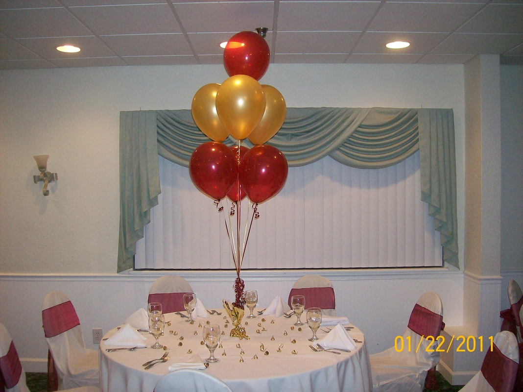 Helium balloon decorating for Balloon decoration ideas no helium